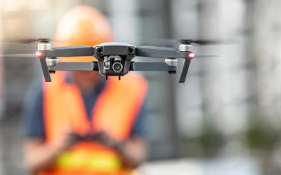 Drones op de werf: verre toekomst of nieuwe realiteit?